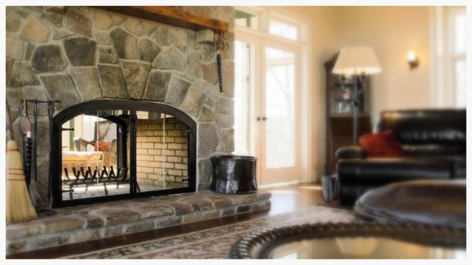 Design Specialties Custom Glass Fireplace Doors. Dunlap, Tn.