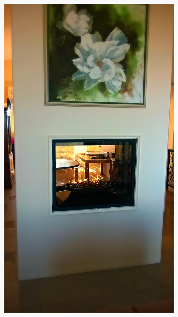 Town & Country TC36 See Thru Direct Vent Fireplace. Chattanooga, Tn.