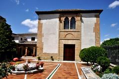 Astudillo (Palencia). Palacio de don Pedro I (santi abella) Tags: españa palencia castillayleón astudillo artemudejar