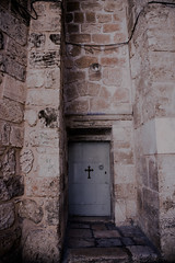 DSC00275.jpg (jaғar ѕнaмeeм) Tags: door architecture israel alley palestine stonework jerusalem churchoftheholysepulchre