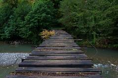 Kaman bridge, where a mine exploded in 1993. (Eleonora Grampasso | Pain de Route) Tags: travel sea black georgia photography nikon republic caucasus traveling d90 abkhazia sukhumi unrecognised grusija grusya
