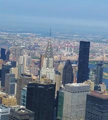 New York City Skyline (tom_2014) Tags: city nyc newyorkcity urban usa newyork building architecture america skyscraper landscape us cityscape view manhattan northamerica metropolis empirestatebuilding artdeco chrysler chryslerbuilding eastside