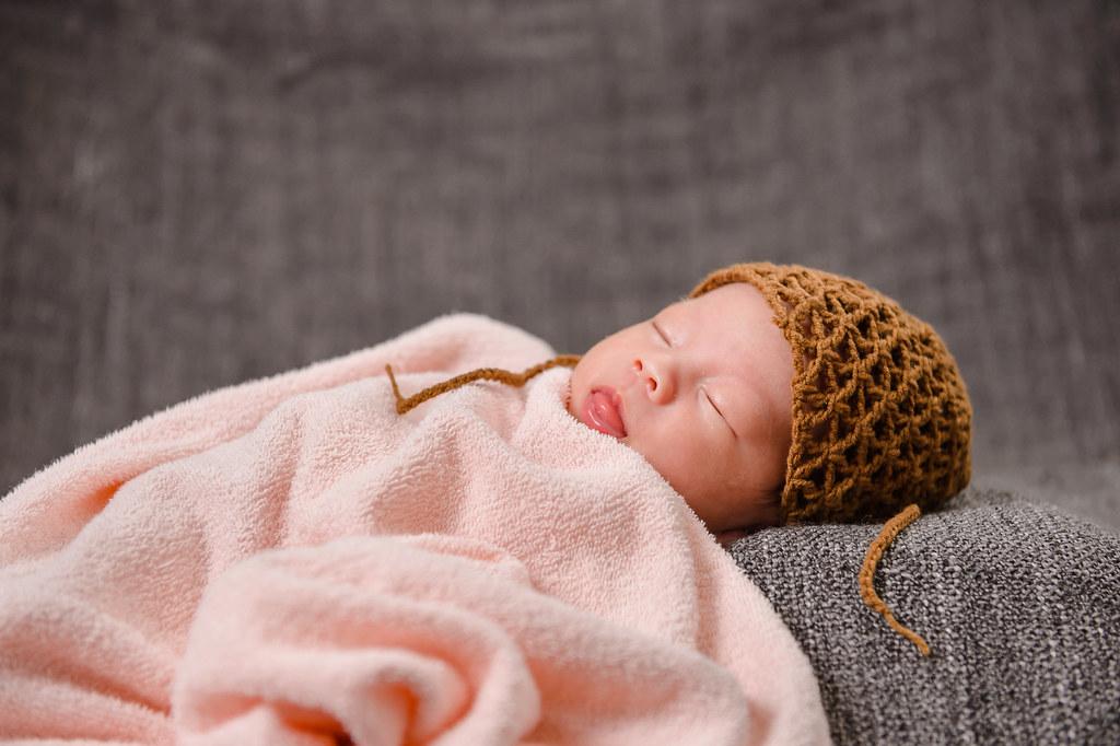 新生兒寫真 寶寶 可愛 兒童 茶米 Deimi0026