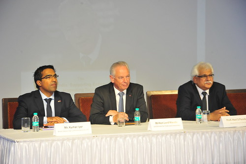 Francis Maude in Mumbai, 9 September 2015