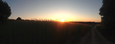 Sunset panorama (adriank1410) Tags: light summer sky holidays memories poland polska wakacje lato wspomnienia iphone5 iphoneography lublinvoivodeship
