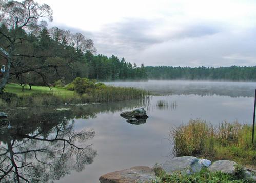 Fog Over Water - R Crosby
