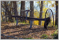 History - Farming - Antique Horse Drawn Hay Rake. (Bill E2011) Tags: horse history canon cattle farming harvest feed horsedrawn hay agriculture collecting