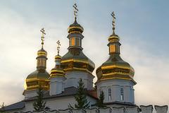Holy Trinity Men's Monastery (Juan R. Ruiz) Tags: city church canon gold travels russia cities ciudad roofs monastery viajes trips rusia tyumen  canon60d canoneos60d   tiumn