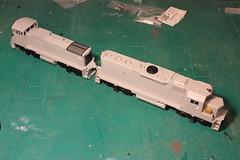 PAIR (Set and Centered) Tags: railroad scale train model modeling company atlas ho 187 cr conrail railroading emd