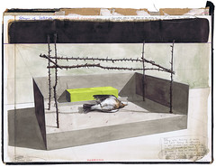 Stages of Solitude - The Wrongful Assumption (Gideon Kiefer) Tags: art pencil ink gideon drawing devil bookcover gouache kiefer fluo geukens gideonkiefer geukensdevil