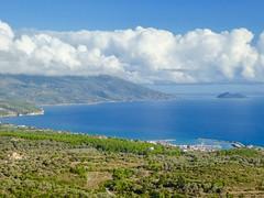 Ormos harbour.... (mrmooz123) Tags: blue sea clouds lumix bay pier mediterranean aegean hellas panasonic greece mediterraneansea samos ormos grekland greekisland aegeansea aegeanislands egeiskahavet tz60 grekland2015