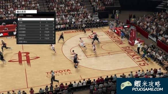 NBA 2K16 調整遊戲視角方法教學