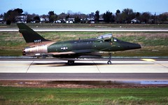 North American F-100D 55-3703 118TFS CT ANG McClellan AFB 23Mar75 [Peter B. Lewis] (San Diego Air & Space Museum Archives) Tags: airplane aircraft aviation f100 militaryaviation pw prattwhitney f100supersabre northamerican naa northamericanaviation f100d supersabre thehun northamericanf100 northamericanf100d j57 northamericanf100dsupersabre northamericanf100supersabre f100dsupersabre northamericansupersabre pwj57 prattwhitneyj57 553703