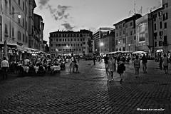 Roma - Campo dei Fiori - luglio 2015
