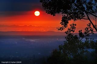 Sunset Hendek Çamlıca