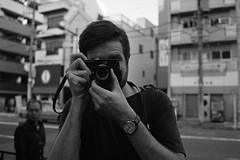 tokyo camera style style (Gemini st.) Tags: street portrait film tokyo cosina voigtlander bessa r3a xp2super400 noktonclassic35mmf14sc