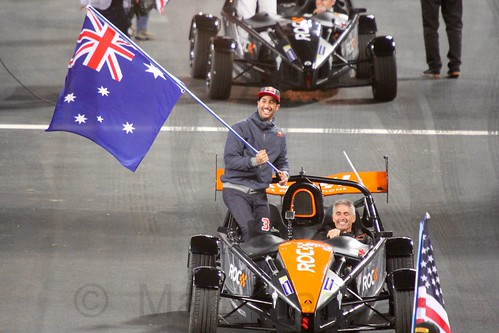 Team Australia at The Race of Champions, Olympic Stadium, London, November 2015
