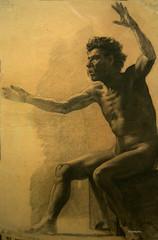 Retrato de hombre desnudo (wsrmatre) Tags: barcelona art museum museu arte muse museo barcelone mnac museunacionaldartdecatalunya ericlpezcontini ericlopezcontini ericlopezcontinifoto ericlopezcontiniphoto ericlopezcontiniphotography wsrmatrephotography wsrmatre