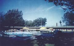 Rendezvous Motel - Niagara Falls, Ontario (The Cardboard America Archives) Tags: ontario vintage niagarafalls postcard motel cokemachine