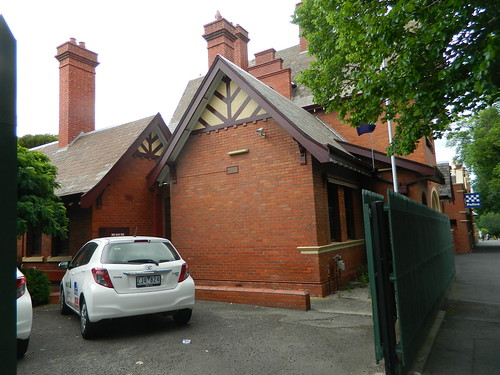 Flemington Police Station and Lockup, 1891 (HO123 VHR H844)