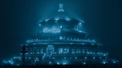 himmelspagode-go (Netblaster) Tags: fog licht nebel nacht mystisch neuendorf hohen himmelspagode