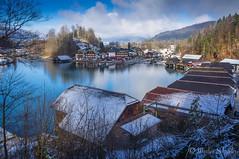 Winter am Knigssee (mar_lies1107) Tags: schnee winter lake germany deutschland see wasser oberbayern knigssee schnau berchtesgadenerland