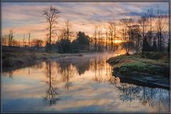 Morning Has Broken (Maclobster) Tags: morning reflection sunrise river maple meadows ridge alouette pitt polder keithgrajala