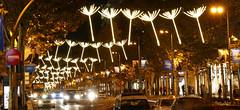 Luces Navideas 2015. Calle Serrano (Madrid) (Juan Alcor) Tags: madrid navidad luces calle serrano nocturno lucesnavideas
