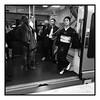 Japan in Paris / (c) abottleinthesea (a_bottleinthesea) Tags: paris métro rer train kimono noiretblanc blackandwhite monochrome femme japonaise charlesdegaulleetoile iphone japon japan portrait streetphotography