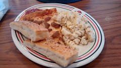 Sausage Pizza, Chicken Rotini And Bread Sticks. (dccradio) Tags: lumberton nc northcarolina robesoncounty food eat pizzahut buffet buffetplate meal lunch lunchbuffet chickenalfredo macaroninoodles rotininoodles plate oval pizzahutplate breadsticks sauce marinarasauce pizza slice pizzaslice cellphonephoto cellphonepicture pic cellphone motorolacellphone motogpicture