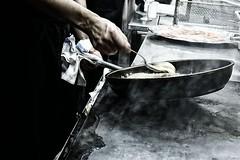 Santiago Rodriguez (bblenna) Tags: santiago rodriguez chef working drama bleach bypass basting seabass fish