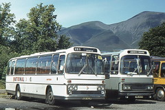 NORTHERN 5055 GGR403N AND GORES YWE497M ARE SEEN IN KESWICK (47413PART2) Tags: northern ggr403n ywe497m bus coach