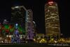 Christmas 2016 Tampa (tarell_sallie) Tags: tampa tampabay florida hillsborough hillsboroughcounty centralflorida centralfl bayarea december 2016 christmas tree pinetree christmastree holidays happyholidays city architecture downtown skyscrapers skyline canon canont3i