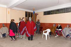 Tradycyjne stroje na wyspie Amantani   Traditional clothes on Amantani Island