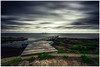 View to the You Yangs (RissaJT_23) Tags: jetty bay leopold clouds youyangs cityofgreatergeelong caravanpark boat ramp seaguls canon canon6d canoneos6d canon1740mm