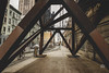 """""""Angles Inside Angles"""" (36D VIEW) Tags: canon mirrorless eos eosm samyang 14mm nyc angles symmetry symmetrical shapes street manhattan support foundation beams steel"""