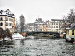 La Petite France looking at the bridge (Loopylou2u) Tags: strasbourg lapetite bridge winter europe