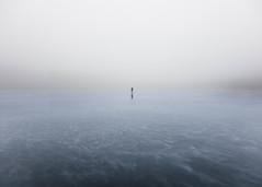 (Svein Skjåk Nordrum) Tags: grain grainy skating lake iceskating minimalism blue tourskating mist misty fog landscape mood perspective nature ice frozen winter light december silhouette