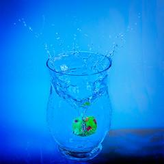 water drop (stevehimages) Tags: steve steveh stevehimages sutton suttoncoldfield 2016 warden wowzers grandpas den west midlands water splash droplets flash lights