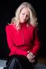 Johanne décembre 2016 (Eric Vidal Photographie) Tags: femme women beaty red rouge canon portrait blonde 5d canon5d markiii