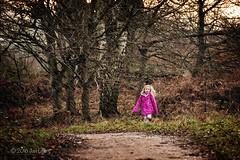 008/116 Rainwear (Jamarem) Tags: rain wood girl pink coat blond hair candid 116picturesin2016 canoneos70d 70300mm outdoors outdoor rainwear