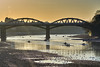 Barnes Bridge (paulinuk99999 - tripods are for wimps :)) Tags: paulinuk99999 landscape january 2017 winter river thames barnes bridge london water rowing boats sal70400g