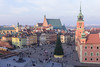 Warsaw, Poland - Zamkowy Place (GlobeTrotter 2000) Tags: zamkowy place castle square nye eve happy new year europe christmas tree visit travel tourism poland warsaw royal old town