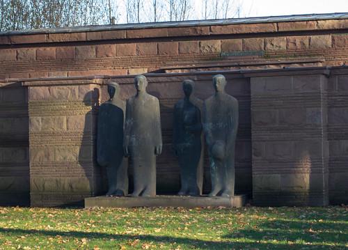 Belgium Langemark German cemetery (#0353)