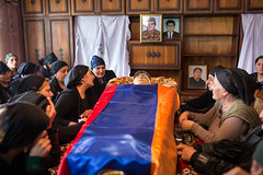 ARMAVIR-32 (RAFFI YOUREDJIAN PHOTOGRAPHY) Tags: soldier funeral beheaded yezidi armenia karabagh karabakh yazidi death fighting dead