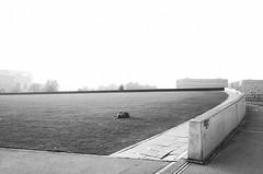 The winter sleep (elisachris) Tags: berlin mitte regierungsviertel kanzleramt beton architecture landschaft landscape street schwarzweis blackandwhite ricohgr