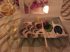 Middag 13/1 (Atomeyes) Tags: mat sushi ris tonfisk fisk öl
