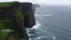 Cliff of Moher (massimomarson) Tags: ireland irlanda eire irish green nature atlantic summer visit island seascape landscape paesaggio panorami tourism travel mother cliff cliffofmother coast scogliere clare sea ocean