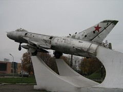 """Sukhoi Su-7B Fitter 3 • <a style=""""font-size:0.8em;"""" href=""""http://www.flickr.com/photos/81723459@N04/32881691641/"""" target=""""_blank"""">View on Flickr</a>"""