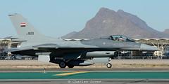 F-16C IAF1613 Iraqi AF (C.Dover) Tags: 152ndfs 1613 f16c52 fms120010 iaf iraq iraqiaf lockheedmartin tucsoniap cnra07